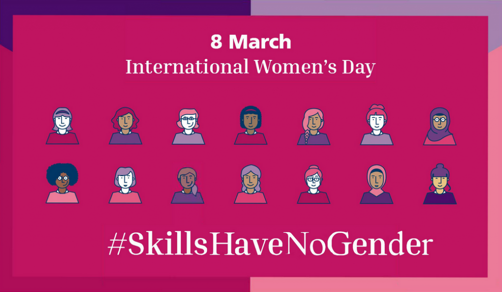 The #SkillsHaveNoGender campaign from World Skills International.